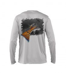 RED FISH GREY BACK