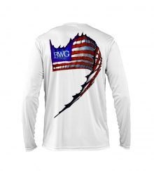 SAILFISH FLAG WHITE BACK