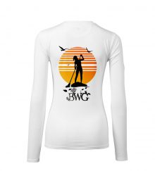 WOMEN SUP WHITE BACK