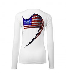 WOMEN SAILFISH FLAG WHITE BACK
