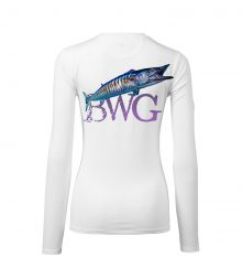 WOMEN WAHOO WHITE BACK