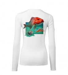 WOMEN AMER SNAPPER WHITE BACK