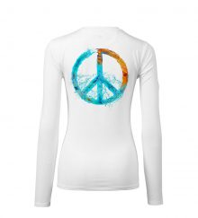 WOMEN PEACE WHITE BACK